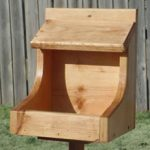 Nesting Shelf – Cherry Finish