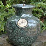 Down Under Pot Glazed Green Marble – Petite