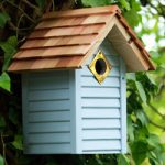 Birdhouse Beach Hut Blue