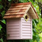 Birdhouse Beach Hut Pink