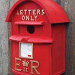 Birdhouse English Postbox