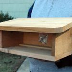 Cedar Shelter for Mason Bee Houses – Empty