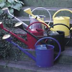 Large 8 Liter Galvanized Oval Watering Can