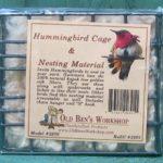 Hummingbird Cage with Nesting