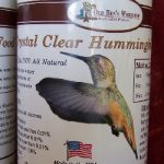Hummingbird Food Clear 16 oz