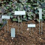 Zinc Plant Markers Cap Style -25 count