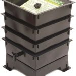 Worm Factory Standard 3 Tray – Black