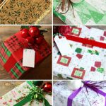 Holiday Plantable Wrapping Paper – Green Trees & Stars