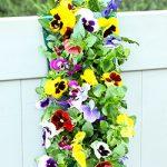 Mixed Pansy Vertical Garden